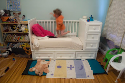 Big Boy Bed Night 2 The Calm Before The Stork