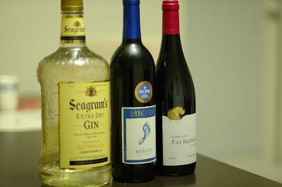 Gin, Wine, Wine