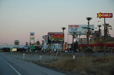 Nevada州境