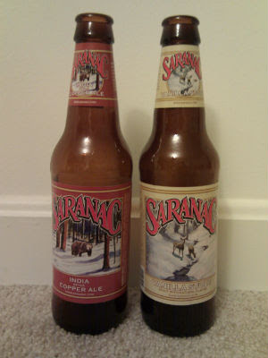 SARANAC INDIA COPPERALE/VANILLA STOUT