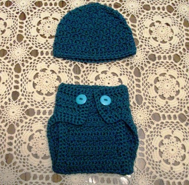 Diaper Cover & Hat