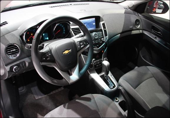 Chevrolet Cruze hatch em Genebra
