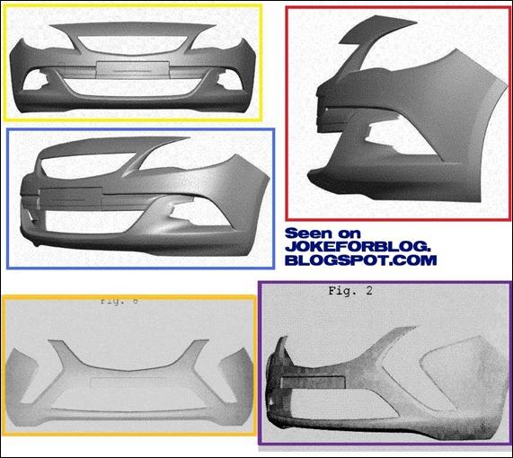 Imagem revela partes dos novos Opel Astra GSi e Zafira