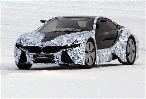 BMW i3 e i8 são flagrados em testes