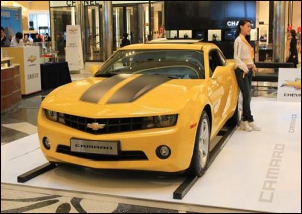 Flagra do Chevrolet Camaro reestilizado?