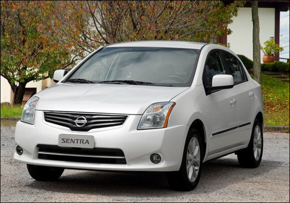Nissan lança a linha 2012 do Sentra