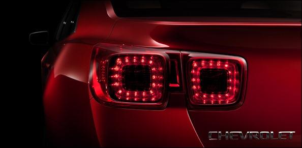 Primeiro teaser do Novo Chevrolet Malibu