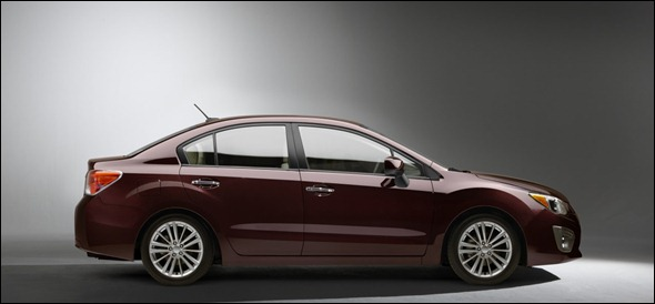 Subaru mostra Novo Impreza 2012