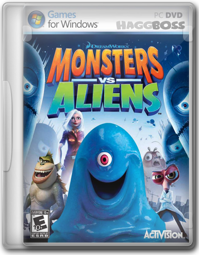 Monsters vs Aliens [PC][MU/FB/UP][Partes.De.950MB]