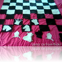 chess bed