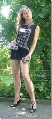 pong on a dress