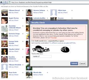 Facebook Security Check Warning