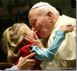 Pope French Kissing Girl