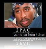 2pac: look for my new album out this year.