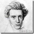 Soren Kierkegaard mugshot