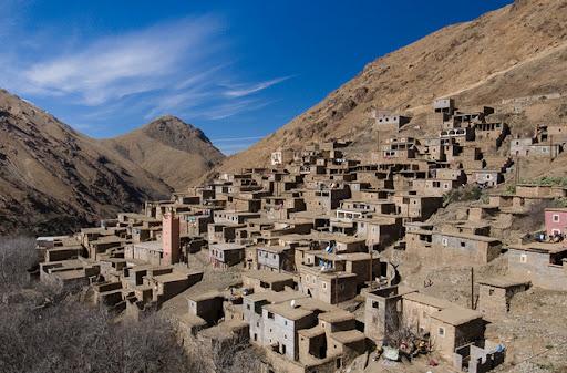 Trekking in Morocco, Berber Village