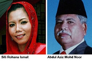 siti_rohana_ismat  Datuk Abdul Aziz Mohd. Noh