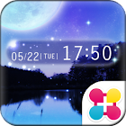 Night sky for[+]HOMEきせかえテーマ icon