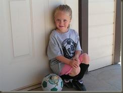11.8.08 Brynn in her soccer gear