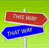 signposts for blog