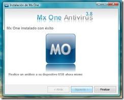 instalar mx one