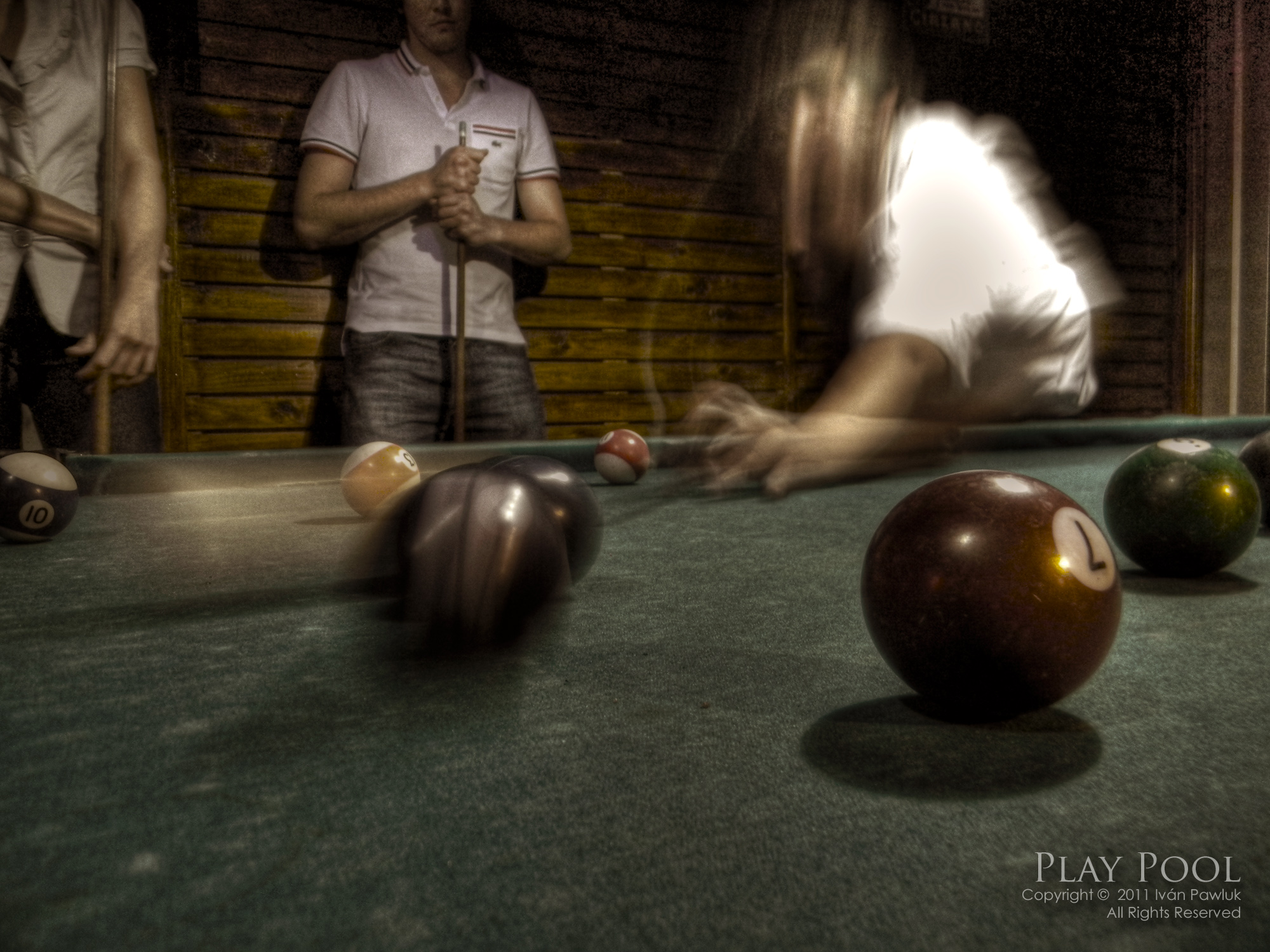Play pool 3- HDR Photography