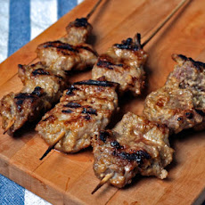Lemongrass Pork Satays