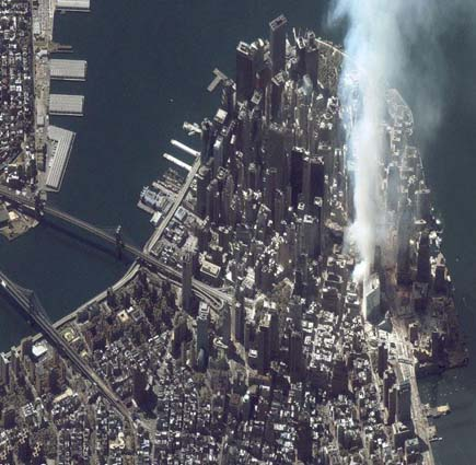ig21 above wtc nyc 02 14 Most Amazing Satellite Pictures You&rsquo;ll Ever Seen Before