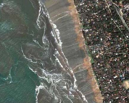 tsunami 2 14 Most Amazing Satellite Pictures You'll Ever Seen Before