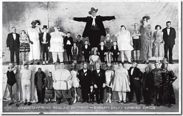 congreso de freaks 1925