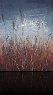 Whispering grasses close up