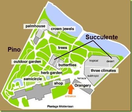 Mappa Hotrus Botanicus Amsterdam