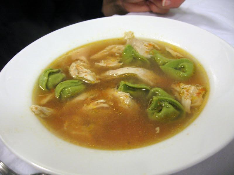 tortellini en brodo in a bowl tortellini in brodo or tortellini