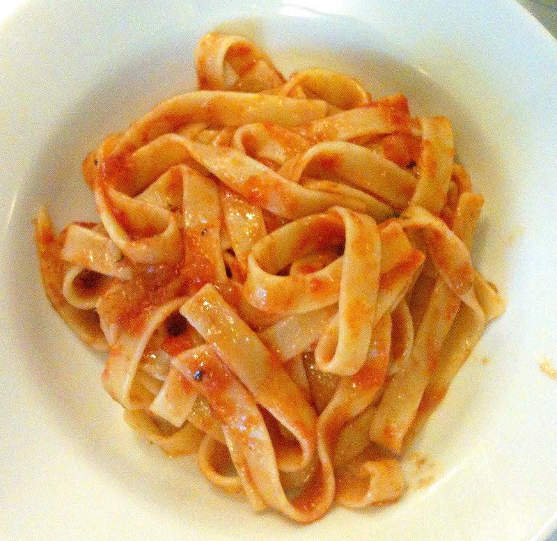Scordo Pasta Challenge – #141 Tagliatelle with Tomato Sauce