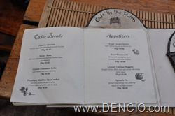 Cafe By the Ruins Menu05