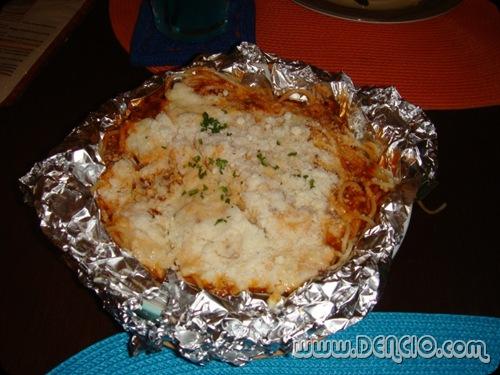 Baked Spaghettini: Php215