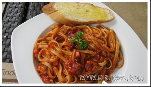 Pasta Bolognese... P145