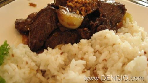 Beef Salpicao...