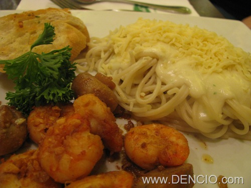 Pasta with Shrimps....