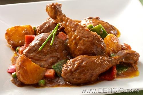 Max's Chicken Caldereta
