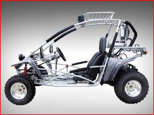 250cc Sahara XT-2 Offroad Kinroad Dune Buggy Side