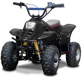 110cc Kids 4 stroke petrol powered Junior Mini Quad bike atv
