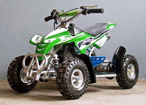49ccKidsQuadBike Green