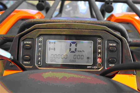 500cc XY Xinyang ATV Farm 4x4 Quad Bike Digital Speedo Cluster Electronic Instrument Panel