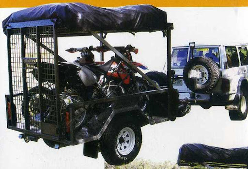 Quad, Dirt Bike & Motor Bike Camper Trailer