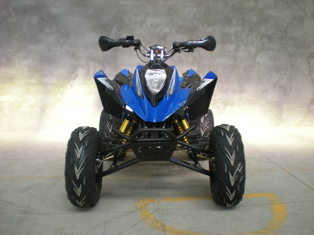 250cc Watercooled Recreational Sports Quad Bike Blue