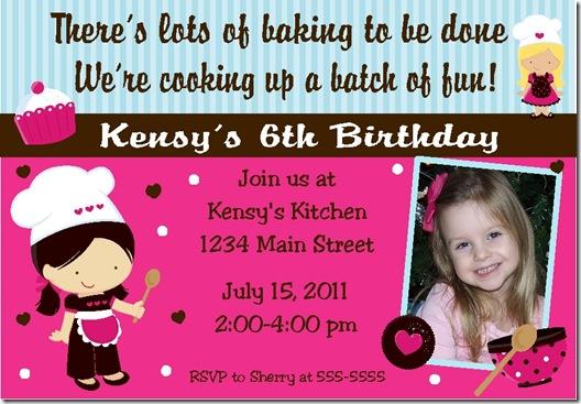 Baker invite