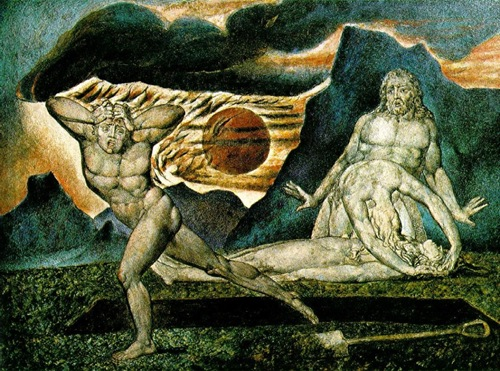 William Blake: The Body of Abel Found by Adam and Eve