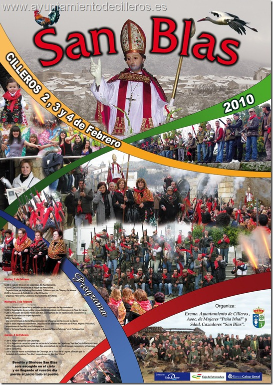 Cartel San Blas 2010