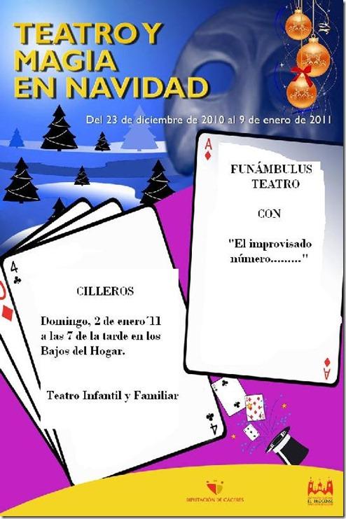 cartel TEATRO 2 DE ENERO